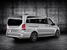 new mercedes v class takes some amg fashion lessons