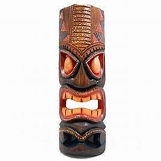 Backyard X Scapes 20 In Tiki Mask Hawaiian Dot Wood