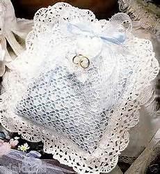 free crochet ring bearer pillow patterns yahoo crochet miscellaneous wedding