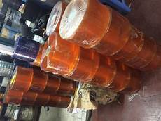 jual agen pvc curtain tirai plastik bening dan orange harga murah jakarta oleh pt mitra mandiri
