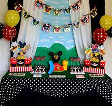 Mickey Mouse Decorations by The Carver Crew A Mickey Birthday