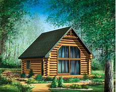 Cabin Style House Plan 2 Beds 1 Baths 743 Sq Ft Plan 25