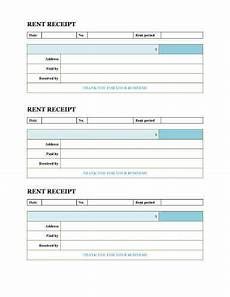 free rent receipt templates download or print hloom