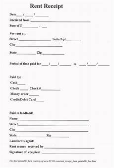 rent receipt free printable www rc123 com in 2019 receipt template lease agreement free