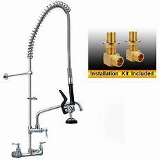 commercial sink kitchen faucet pull pre rinse sprayer