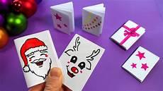 basteln weihnachten diy mini notizbuch basteln mit