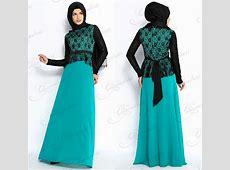 Long Sleeve Black Lace Patterns Ladies Fashion Hijab