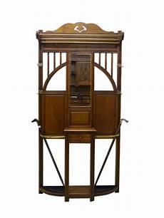 garderobe antik jugendstil garderobe wandgarderobe jugendstil um 1900 antik eiche ebay