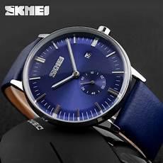 skmei jam tangan analog pria 9083cl blue