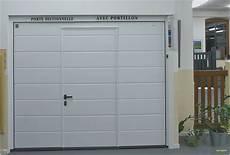 Tubauto Porte De Garage Basculante Avec Portillon Bois