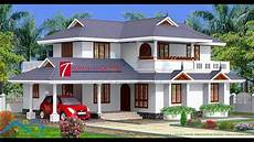 kerala style house plans with cost 6 amazing kerala house design youtube