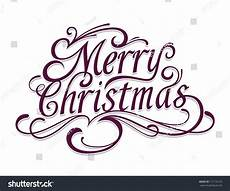 merry christmas vector calligraphic lettering stock vector 117116125