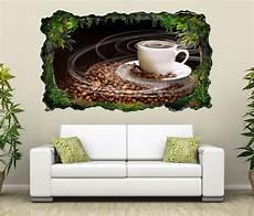 3d wandtattoo kaffee tasse coffee bohnen k 252 che bild