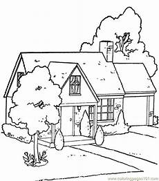 garden house coloring page free houses coloring pages