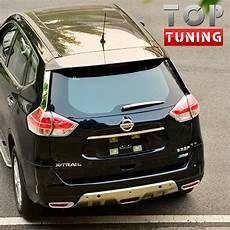 Nissan X Trail T32 Tuning - накладка на задний дворник tech design на nissan x trail t32