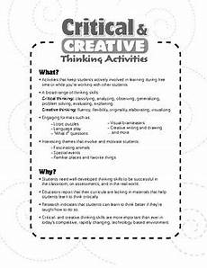 critical and creative thinking activities grade 3 tpt