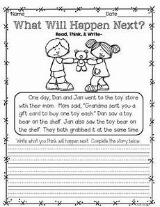 writing activity worksheets for grade 1 22845 writing activities and more december january february k to grade 1