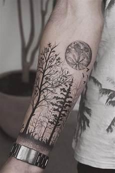 Wald Unterarm 110 Fantastische Unterarm Tattoos