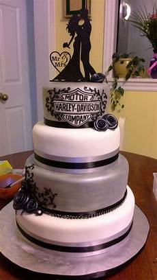 Harley Davidson Wedding Theme by Harley Davidson Wedding Cake Mandy S Cake Creations