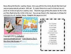 money riddle worksheets 2303 money counting change coins riddle solver worksheets for math practice