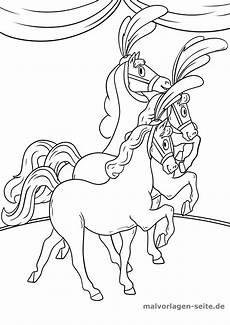 Ausmalbilder Zirkus Kostenlos Malvorlage Zirkus Pferde Kostenlose Ausmalbilder