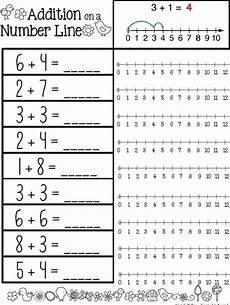 addition worksheets using number line 8951 travel teach and november 2012
