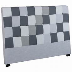 tete de lit patchwork t 234 te de lit capitonn 233 e quot patchwork quot 180cm gris