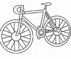 image vélo à imprimer dessin simple velo