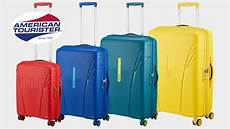 american tourister skytracer 4 rollen trolley koffer