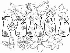 peace on earth adult coloring page by tabbystangledart on