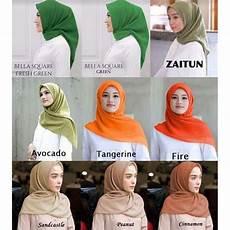 1 Kg Isi 16 Pcs Jilbab Segi Empat Square