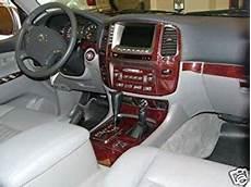 automotive service manuals 1998 toyota land cruiser interior lighting toyota land cruiser interior burl wood dash trim kit set 1998 1999 2000 2001 2002 buy online