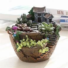 Large Sky Garden Herb Flower Planter Cactus Succulent Clay