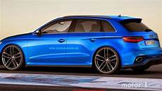 Audi A3 Clubsport Quattro Concept Rendered In Rs3 Three