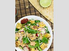 Asian Tofu Salad, High in Protein, Low carb and Vegan