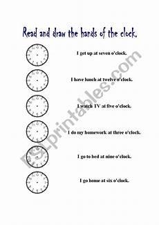 telling time worksheets o clock 3130 telling time o 180 clock esl worksheet by ferdimendez