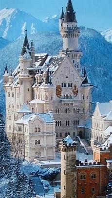 winter germany iphone wallpaper winters wallpaper neuschwanstein castle bavaria germany