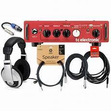 tc electronics bh250 tc electronic bh250 250 watts bass lifier bundle reverb
