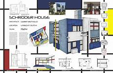 schroder house plan hand drafting architecture on behance