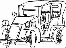 auto mit kurbel ausmalbild malvorlage auto
