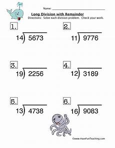 free math worksheets division with remainders 6858 division with remainder worksheet teaching