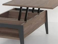 table basse avec plateau table basse rectangulaire 110 avec plateau relevable brighton