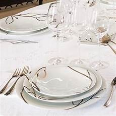 service de table porcelaine moderne