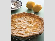shaker style sliced lemon pie_image