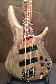 Ibanez Srff805bks Fanned Fret 5 String Electric Bass Reverb