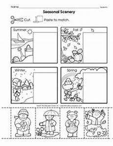 seasons worksheets cut and paste 14760 community helpers cut paste worksheet 11 povolania community helpers