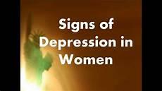 Depressionen Symptome Frau - signs of depression in