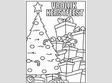 Kleurplaat Kerst Kleurplaat Kerst Boom » Animaatjes.nl