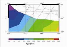 Age Malvorlagen Sub Indo Lithospheric Age Of The Indo Australian Subducting Plate