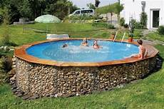 Poolbau Selber Machen - bildergebnis f 252 r gabionen pool pool deck ideas casa